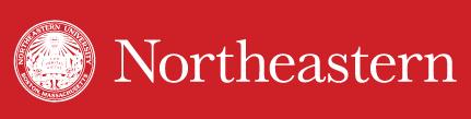 Northeastern U Graduate Commencement