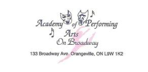 Academy of Performing Arts on Broadway