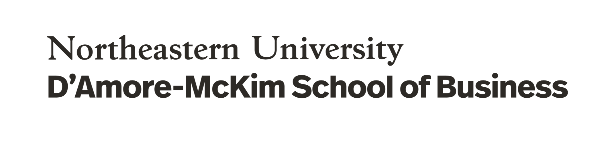 Northeastern University Business School Commencement
